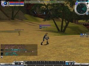 RF ONLINE初めての戦闘