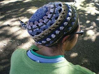melting knit ニットキャップ