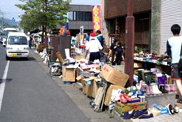 桐生市フリーマーケット
