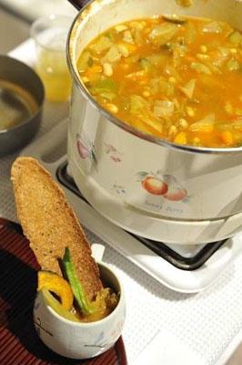 夏のスープ