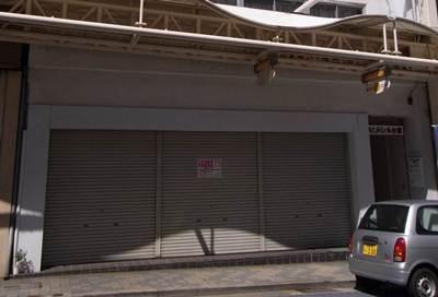 銀座通り 空き店舗