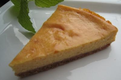 「ハニーレモンのチーズケーキ」