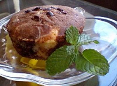 「バニラとココアのマーブルケーキ」
