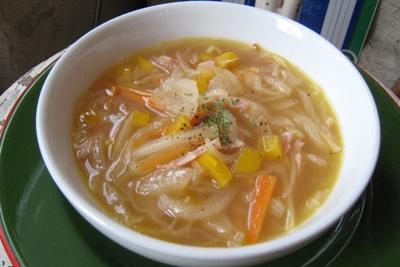 「甘いお野菜のスープ」