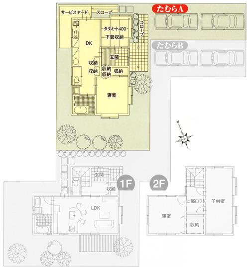 なごみ BS-15 平面図