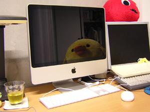 iMacがやってきた