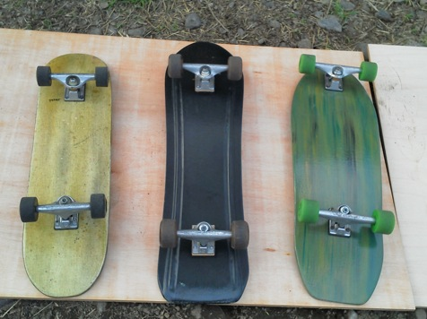 make skateboard