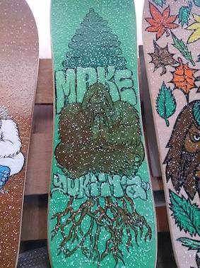 SNOWTOY サンドグリップ(砂の滑り止め)MAKE SNOWTOYS  芽育 雪板