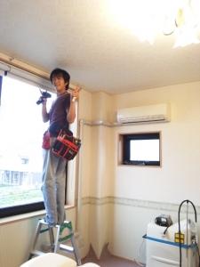個室改装中2