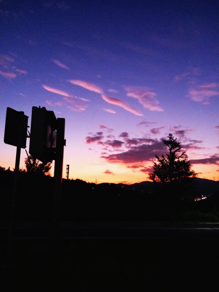 夕焼け 浜松