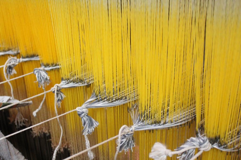 手織り つつむ