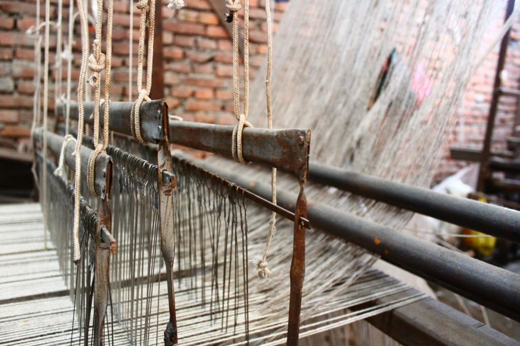 手織り ネパール