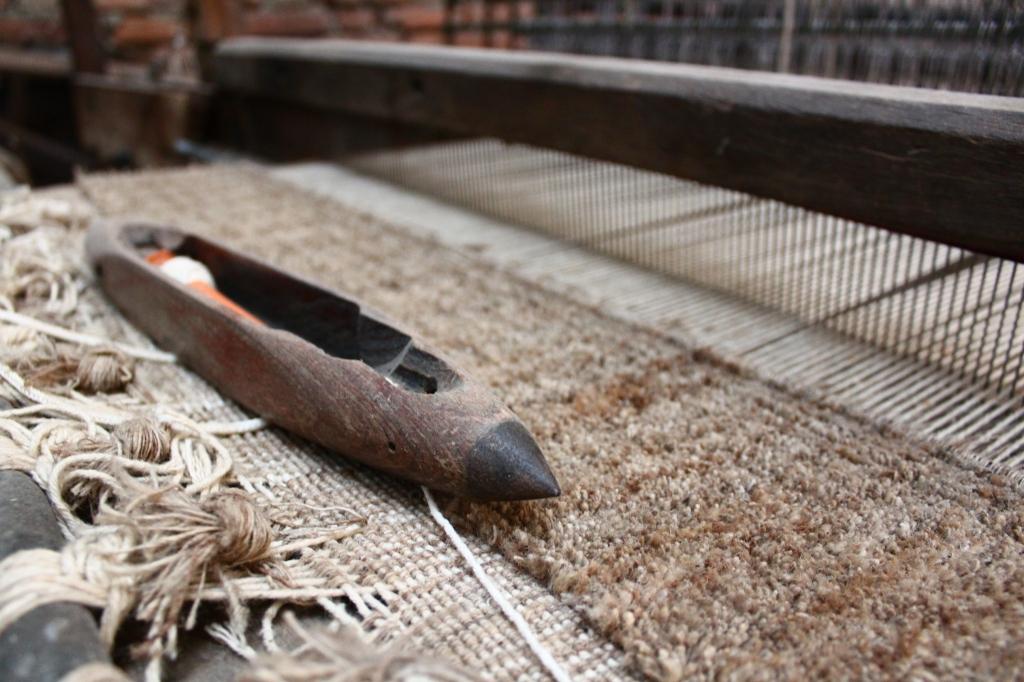 手織り カーペット