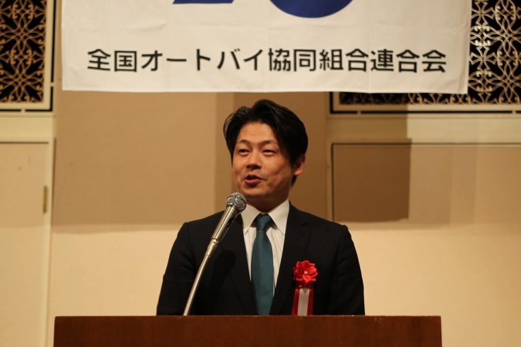 松浪健太・前衆議院議員による講演