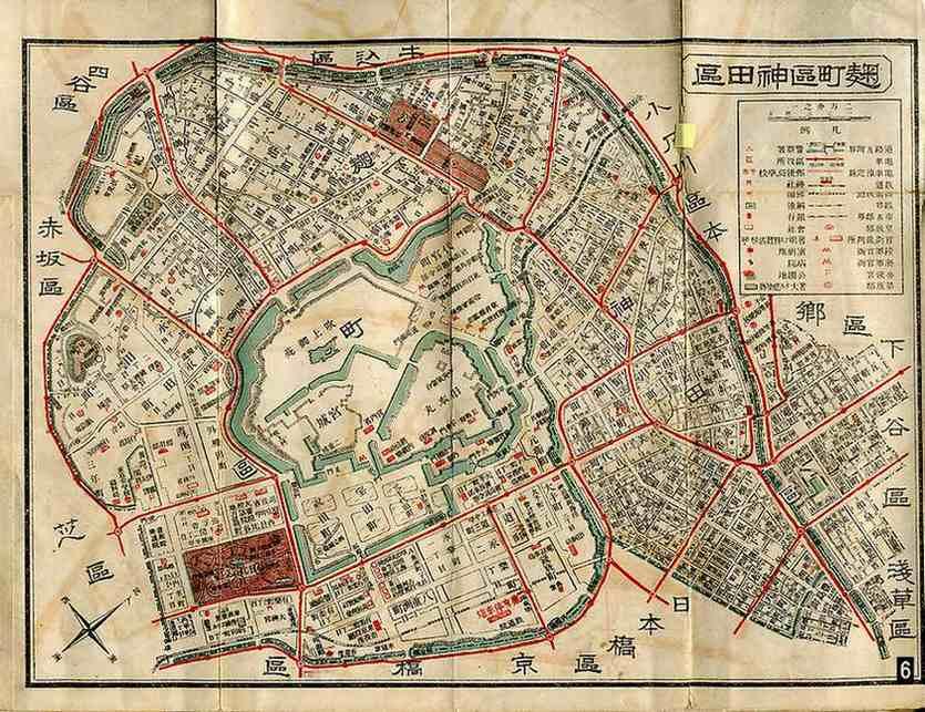 東京 古地図 地形図 | お楽しみコーナー
