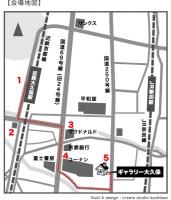 地図/近鉄大久保駅