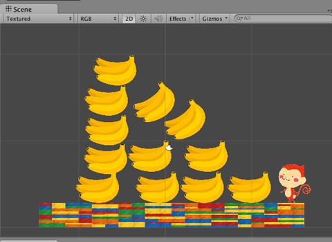 サルとバナナのゲーム