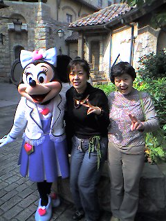 綾子と早苗とミルフィーちゃん