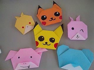 動物折り紙