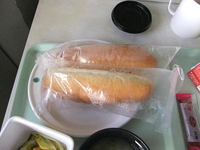 入院中の食事 無塩パン