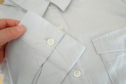 フェリシモ IEDIT レーベルコレクション きちんと見えてストレスフリー オールタイム活躍するカットソーシャツの会 クールグレイ