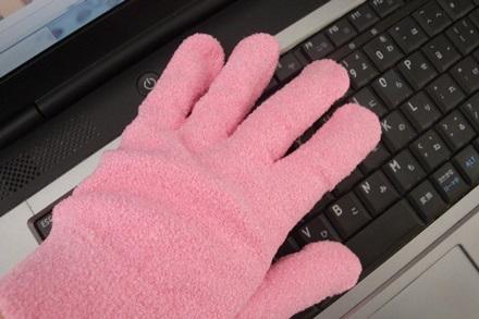 あっちこちお掃除手袋ッピンク