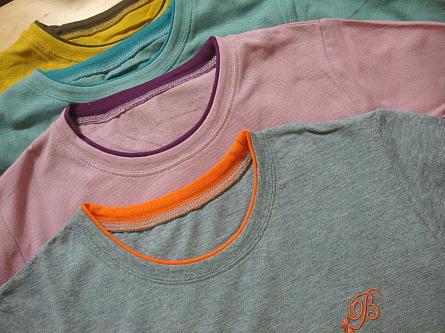 ベルーナで購入鹿の子仕立てのプルオーバー4色組