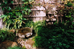 掛川城二の丸茶室・茶庭