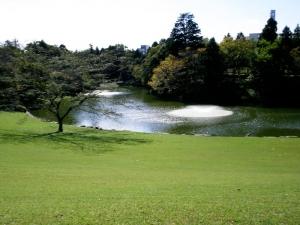 川村記念美術館 庭