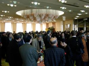 損保ジャパン 選抜奨励展 パーティー風景