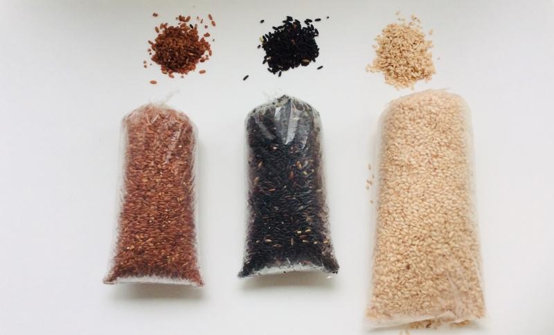 バリの古代米