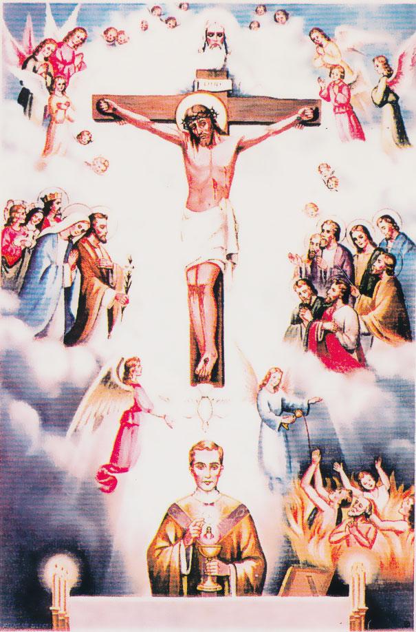 ミサの聖なる犠牲裏表紙