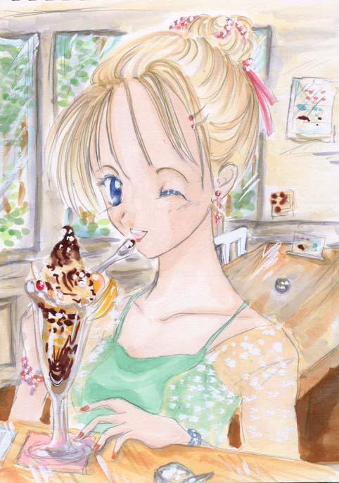 ソフトクリームパフェ