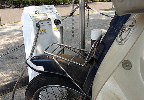 有料バイク駐車場