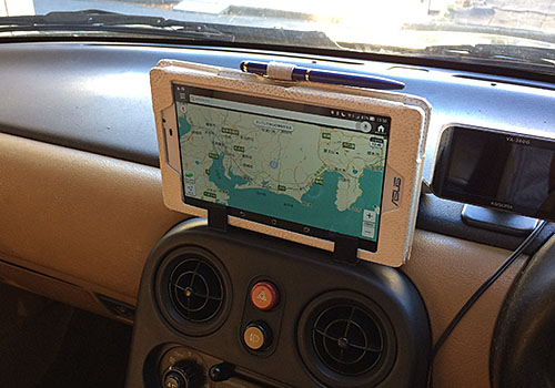 ZenPad7LTEを装着