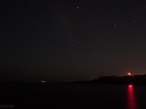 三池港から御蔵島方面