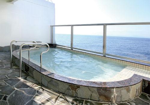 フェリーの露天風呂