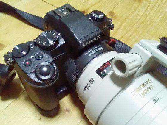 G8+EF100-400mm