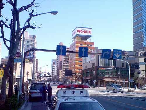 東京マラソン試走10