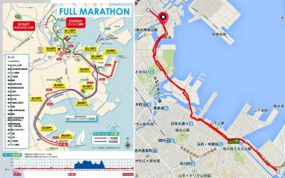 横浜マラソン・試走