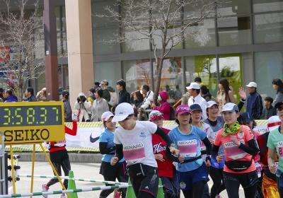 名古屋ウイメンズマラソン応援