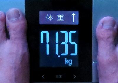 体重増加中