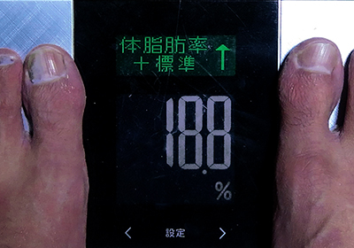 体重増えたΣ(゚д゚lll)