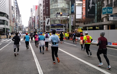東京マラソン・詳細 - スタートまで