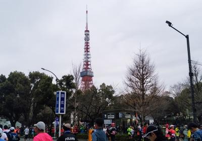 東京マラソン・詳細 - フィニッシュ後
