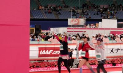 名古屋ウィメンズマラソン・応援