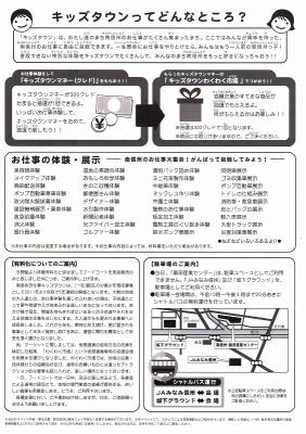 お仕事キッズタウン2016