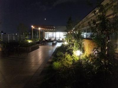 カフェ「サリュ」夜