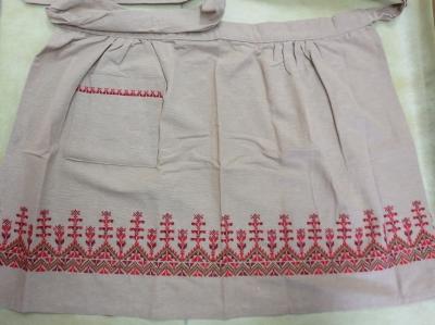 half apron//