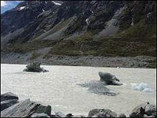 氷河のかけら